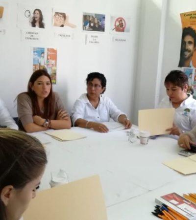 Autoridades municipales sostienen reunión con dependencias estatales para tratar el tema de la violencia de género en Solidaridad