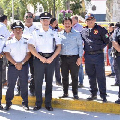 OPERATIVO GUADALUPE-REYES EN TULUM: La seguridad de los visitantes y habitantes, prioridad en fiestas decembrinas, dice Víctor Mas Tah.