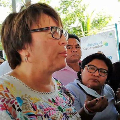 """""""ASÍ SE LO HICIERON EN CHETUMAL A PASTRANA CON EL PREDIAL"""": Laura Beristain asegura que el Gobierno del Estado no la deja gobernar"""