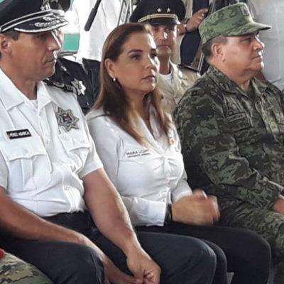 """QUE SIGUE EN ANÁLISIS EL 'MANDO ÚNICO' EN CANCÚN: """"No se ha entregado a la policía, estamos en una coordinación"""", dice Mara Lezama"""
