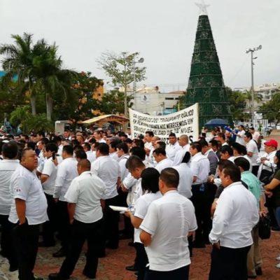 CONFLICTO POR MOTOTAXISTAS EN PLAYA: Advierte Rubén Aguilar que taxistas saldrán a manifestarse hasta que autoridades respondan