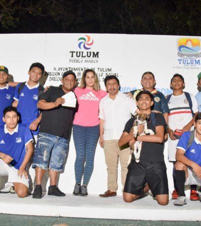 Premian a ganadores del 'Torneo del Pavo' 2018 en Tulum