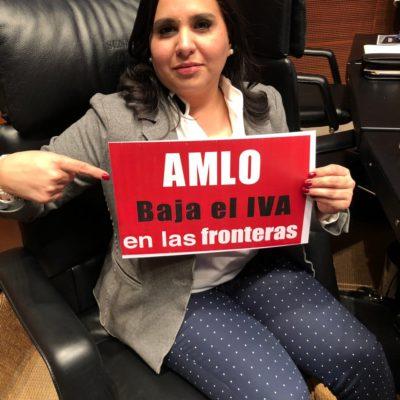 """""""Senadores de Morena traicionaron a los quintanarroenses"""", dice Mayuli Martínez"""