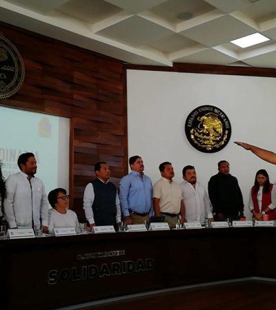 RATIFICAN A MARTÍN ESTRADA EN LA POLICÍA: En sesión de Cabildo, Alcaldesa toma protesta al director General de Seguridad Pública y Tránsito de Solidaridad