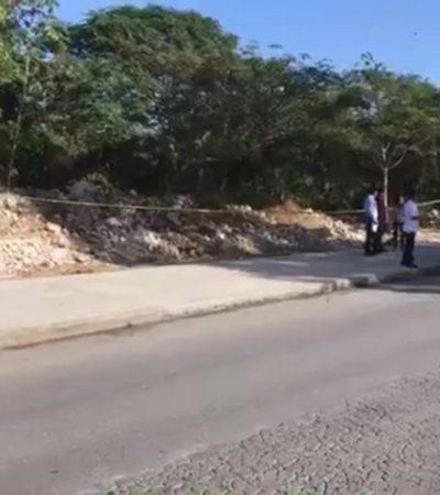 Hallan cuerpo en estado de descomposición en maleza, entre la parroquia y el Club Rotario de la Región 103