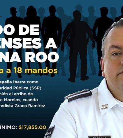 ESPECIAL | SSP QR, CONTINUACIÓN DE LA CES MORELOS DE GRACO RAMÍREZ: 18 ex funcionarios morelenses en cargos clave de la gestión de Jesús Alberto Capella Ibarra