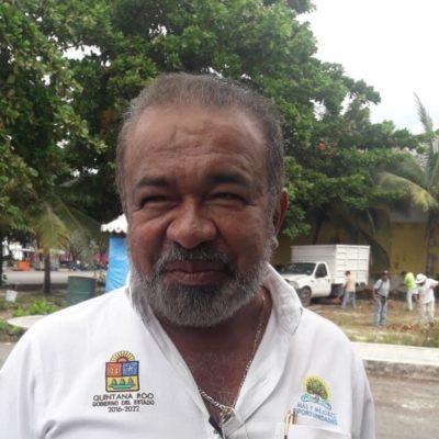 """En proceso la construcción de la carretera que lleva a la """"Laguna Ciega"""" en Cozumel: William Conrado"""