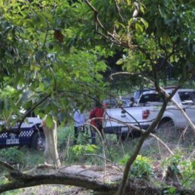 VIOLENCIA EN VERACRUZ: Levantan y ejecutan a mando policiaco; abandonan su cuerpo desmembrado