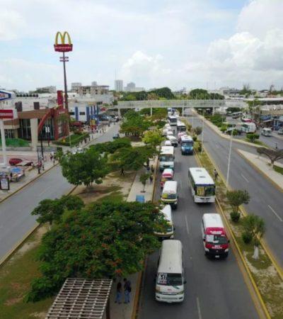 """""""La movilidad es prioridad para Fonatur, por lo que se buscará proyecto para mejorar la circulación vial en la zona hotelera de Cancún"""", asegura el delegado Juan González"""