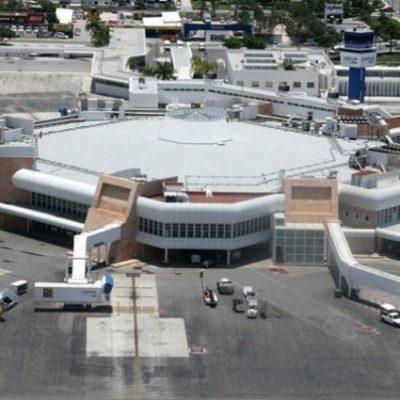 Anuncian simulacro de accidente de aeronave en el Aeropuerto Internacional de Cancún