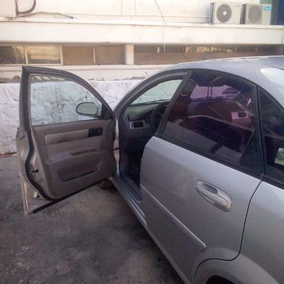 Atrapan a mujer con auto robado en Chetumal