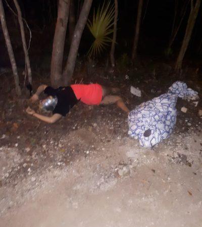 NAVIDAD CON TRES EJECUTADOS EN CANCÚN: Hallan a una pareja asesinada en la Región 313 y a otra persona tirada en la SM 107