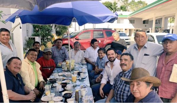 En su nuevo papel como delegado de Movimiento Ciudadano, inicia 'Chanito' Toledo recorridos por todo Quintana Roo y se mete a las polémicas… como si ya estuviera en campaña