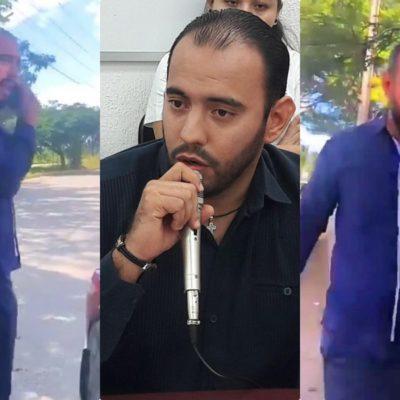 SE QUEDA SIN 'CHAMBA' EL #LORDPAPÁ: Tras confirmar evidencia en video, la Secretaría del Trabajo da baja a funcionario que fingió ser víctima de abuso policiaco en Cancún