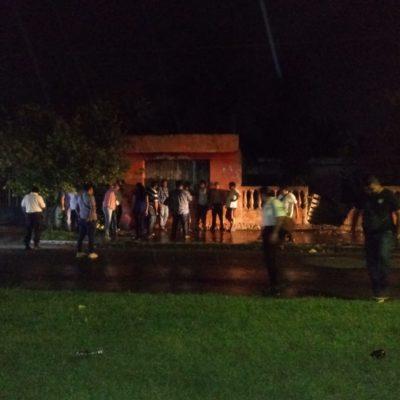 BALEADO EN LA CALZADA VERACRUZ: En Chetumal, sujeto saca arma y le da dos tiros a su víctima