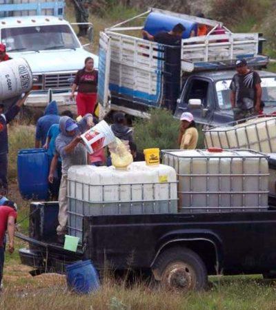 CERO TOLERANCIA: Se castigará tanto la ordeña, como la venta y compra de gasolina robada