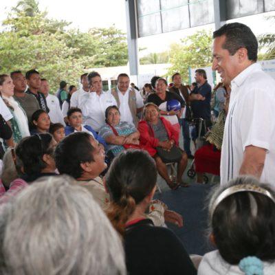 Reorienta Carlos Joaquín 30 por ciento de gasto corriente para inversión en obras y servicios