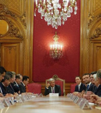 ACOTAN A LOS 'SUPERDELEGADOS': Tras reunión de Gobernadores con AMLO, limitan funciones en materia de seguridad a los enviados por el Presidente
