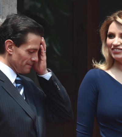 Suspenden Peña y Rivera publicaciones 'cariñosas' en redes; el expresidente deja de usar anillo matrimonial