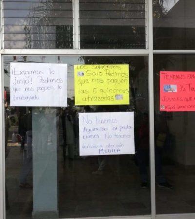 Reclaman pago suplentes de enfermería en Yucatán ; el ISSSTE les adeuda desde mayo