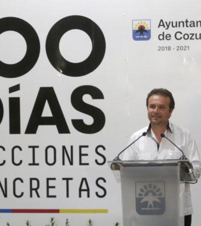 En cien días de gobierno, Pedro Joaquín destaca acciones seguras y resultados en Cozumel