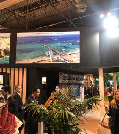 Estrategias de promoción implementadas por el gobierno municipal posicionan a Puerto Morelos en el mapa mundial del turismo en la FITUR