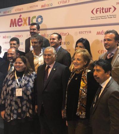 Gobierno de Cozumel refuerza promoción turística del destino en la Fitur 2019