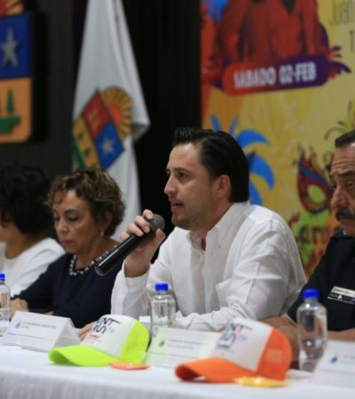 Todo listo para el Carnaval Cozumel 2019, con un magno homenaje a Juan Gabriel