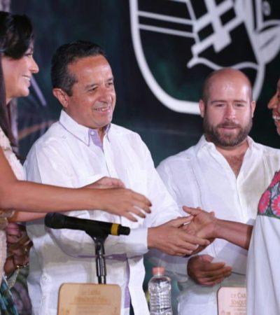 Destacan habitantes de Puerto Morelos un avance en el desarrollo del municipio