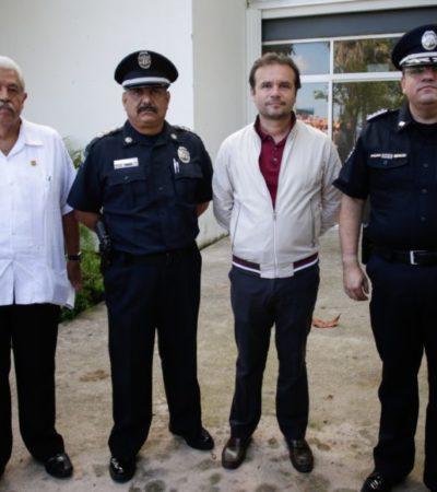 En reunión con Pedro Joaquín, Alberto Capella asegura que índice delictivo en Cozumel va a la baja en un 25 por ciento