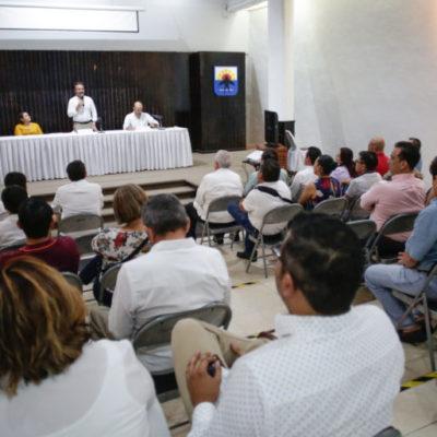 Exhorta Pedro Joaquín a integrantes de su gabinete a redoblar esfuerzos