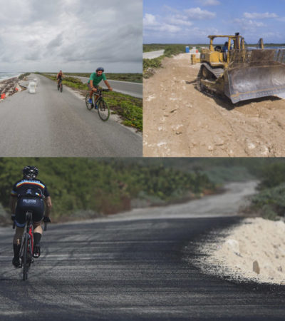 Concluyen obra en la carretera perimetral de Cozumel