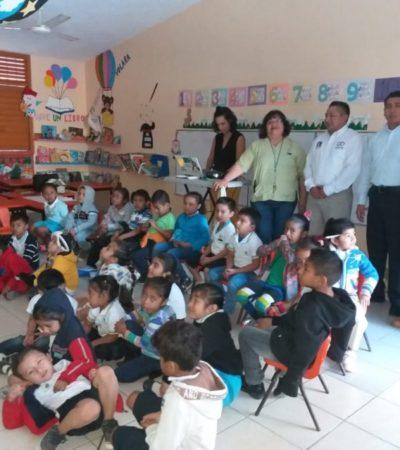 Gobierno de Puerto Morelos implementa el programa 'Municipio en tu escuela'