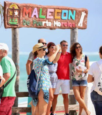 Puerto Morelos concreta alianzas comerciales con estrategias de promoción turística en la Fitur 2019