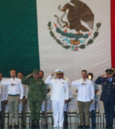 Asiste Pedro Joaquín al cambio de mando de la Base Aérea Militar