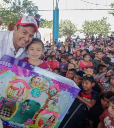 Gobierno estatal y municipal de Isla Mujeres festejarán el Día de Reyes el 9 y 10 de enero