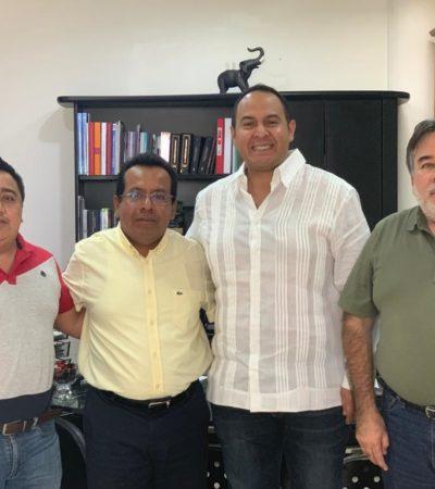 Acude Juan Carrillo a reunión con Auditor y asegura que la Aseqroo avala el buen manejo de las cuentas públicas