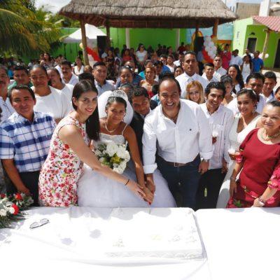 Invitan a parejas isleñas a las bodas colectivas 2019 en Isla Mujeres