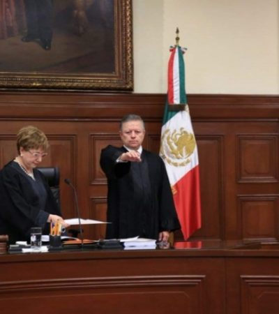 Eligen al ministro Arturo Saldívar de Lelo nuevo presidente de la SCJN