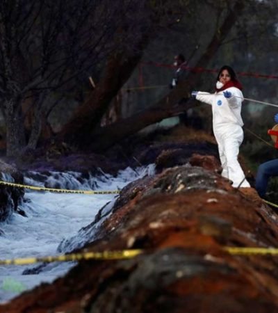 Sube a a 71 la cifra de fallecidos y a 75 el número de heridos por la explosión de ducto en Tlahuelilpan