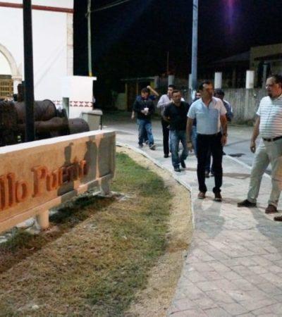 José Esquivel supervisa el mejoramiento e imagen del jardín Museo Maya Santa Cruz Xbáalam Naj