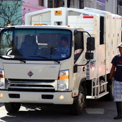 Todo listo para la entrada en vigor del nuevo horario de recoja de basura en Isla Mujeres a partir del 16 de enero
