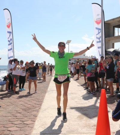 Realizan con éxito el primer 'Ultra Maratón Non Stop 24 Horas Isla Mujeres'