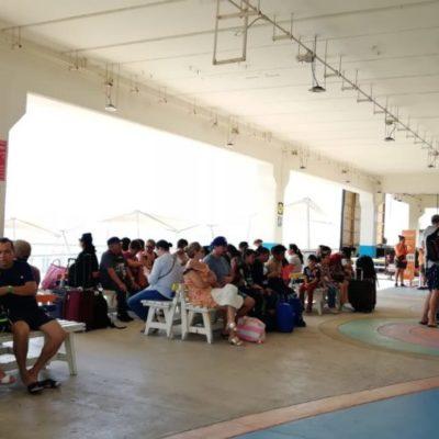 Leve aumento de usuarios en 2018 en la terminal marítima de Playa del Carmen