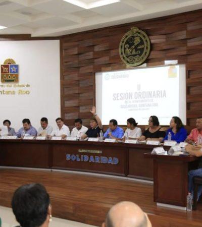 Cinco regidores quedan a deber preparación académica en Solidaridad