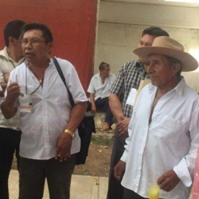Rompeolas: Determinan Dignatarios Mayas 'cerrar las puertas a políticos'