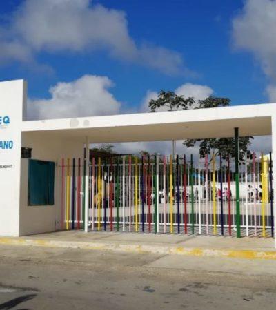 Por corte de energía eléctrica, más de 360 alumnos de un jardín de niños en Playa del Carmen, sufren afectaciones