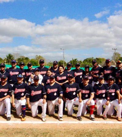 Broncos de José María Morelos toma ventaja en la final de beisbol estatal, al vencer 10 por 7 a los Mayas de Felipe Carrillo Puerto