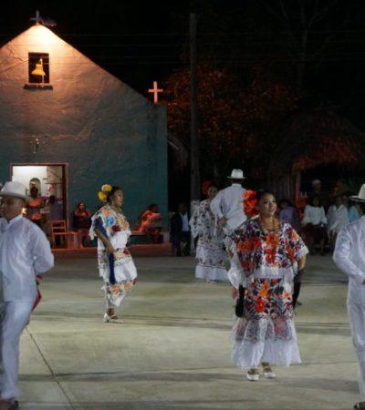 Inauguran la tradicional fiesta de los Tres Santos Reyes en la comunidad de San Luis