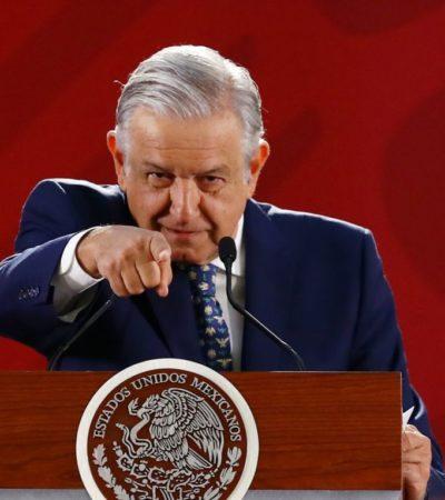 Lanza AMLO fin de la 'guerra' contra líderes del crimen organizado